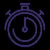 Proactive Response Stopwatch Icon